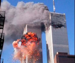 9/11 (the attack on the World Trade Center on September 11, 2001)