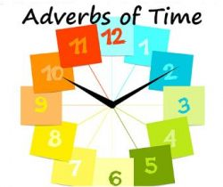 A day with Father Time! (Advanced Adverbs - Adverb of Time.)