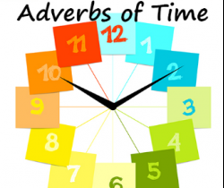 A day with Father Time! (Adverb of time-Part I)