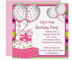 You are invited - 2…(Birthdays/Anniversaries)