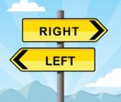 Directions (left, right etc.)