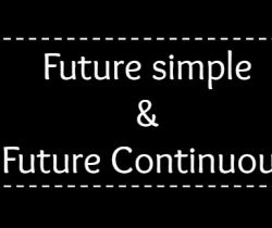 Future Simple And Future Continuous Tense (Exercises)