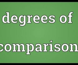 Good, Better, Best (Degrees of comparison)