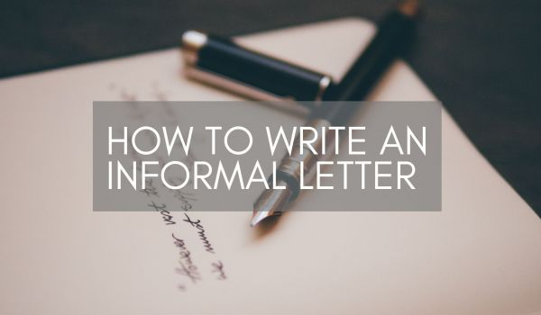Informal letter For High School