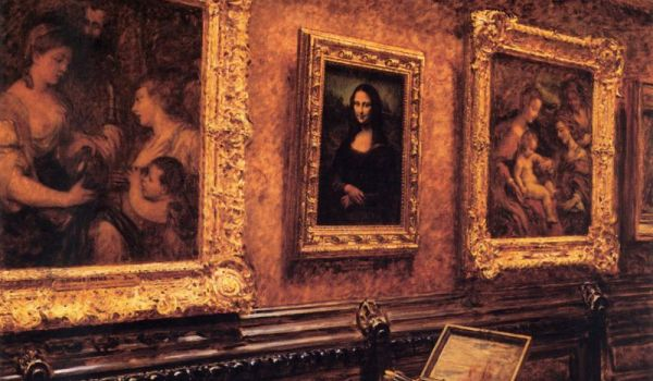Louvre's Mona Lisa May Be Copy Of An 'Earlier Version'