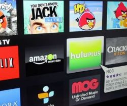 The rise of streaming media (Apps like Netflix, Hulu, amazon prime, devices like apple Tv, comcast...)