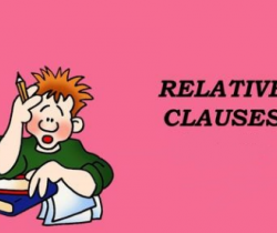 Relative Clauses (Exercises)