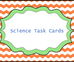 Science Text cards