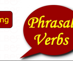 Splitting Phrasal Verbs