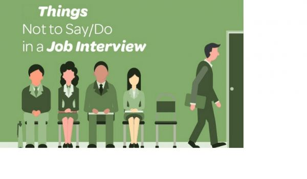 What NOT TO Say During The Interview