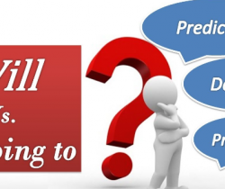 Will and going to, for prediction