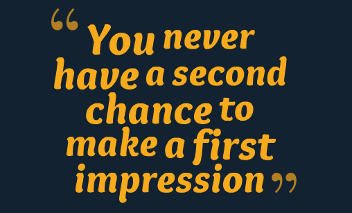 first impression is the best impression A study looking into the role of first impressions in tourism websites found that inspiration-related elements had the greatest impact on first-impression formation this suggests that visually appealing stimuli is a very important tool for getting people to stay longer on the site and thus converting more visitors into buyers.
