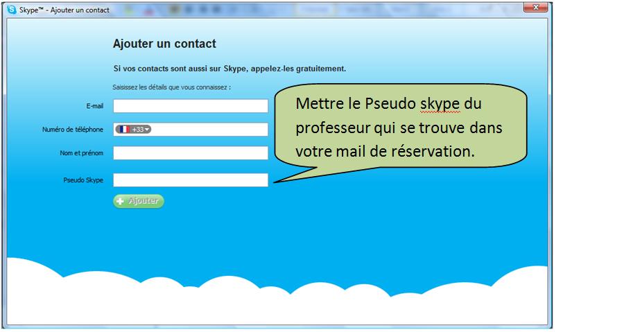 exemple de skype